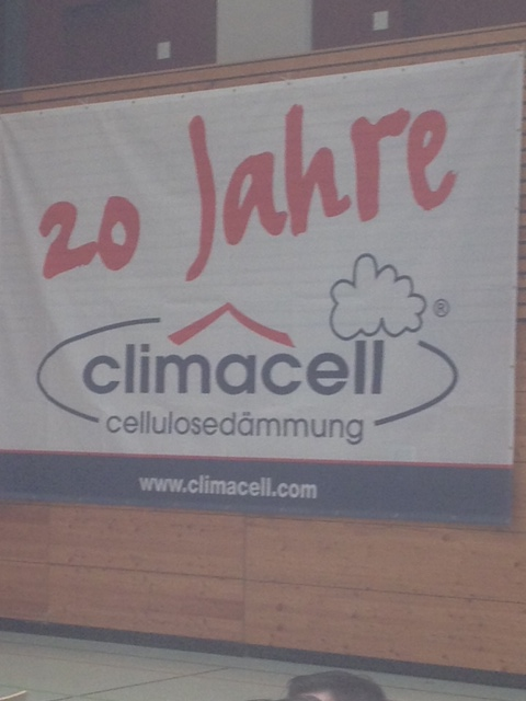 20 Jahre Einblasdämmstoff Climacell: Feier im Angelbachtal am 14.03.2014