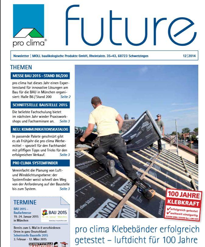 pro clima Newsletter future ist da!