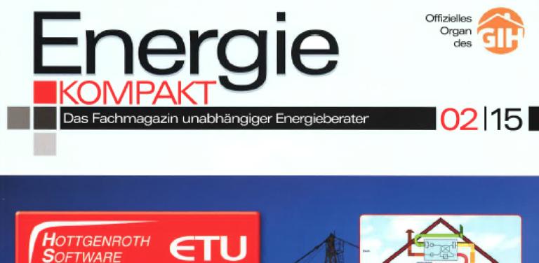 Pressespiegel: Lufdichtungsworkshop in Energie Kompakt