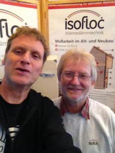 Leiter der Anwendungstechnik Jürgen Küllmer :Koryphäe der Zellulosedämmumg.