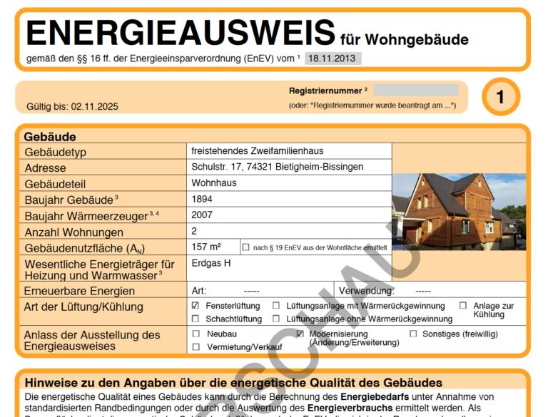 """Stellungnahme zu Artikel """"Energieausweis im Praxistest: Ergebnisse großenteils zufällig"""""""