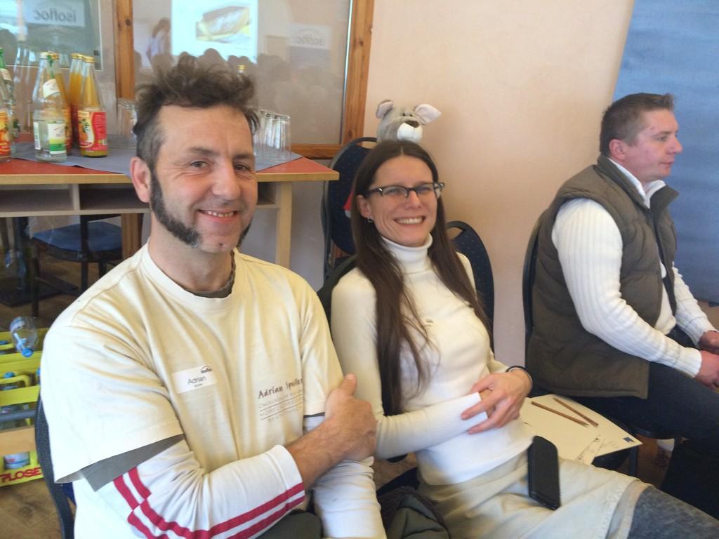 Adrian und Marlies Spuhler aus Bellheim.