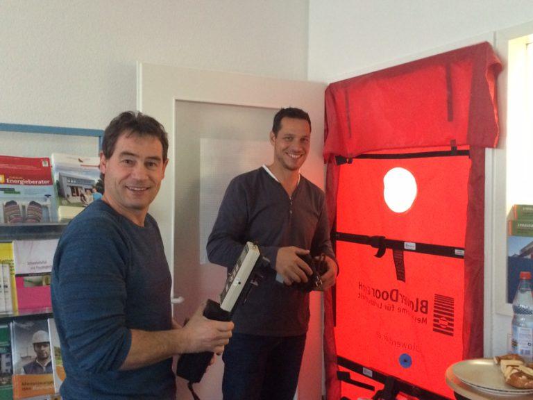 Zertifizierte Blower-Door-Ausbildung: Motivation der aktuellen Teilnehmer in Stuttgart