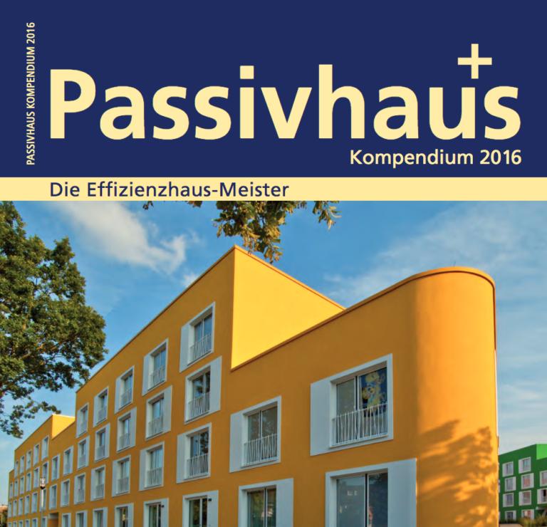 """Pressespiegel: """"Kontrolle ist besser"""" in Passivhauskompendium 2015"""