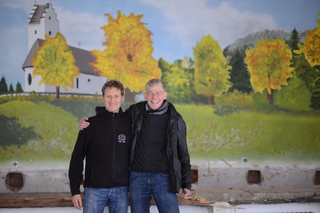 Holger Merkel (links) und Thomas Kretzschmar.