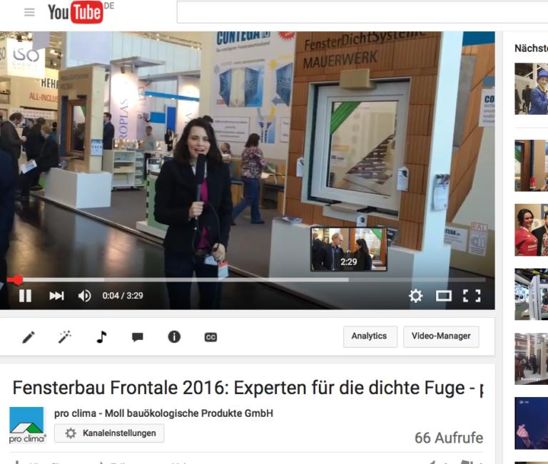 Fensterbau Frontale 2016 in Nürnberg