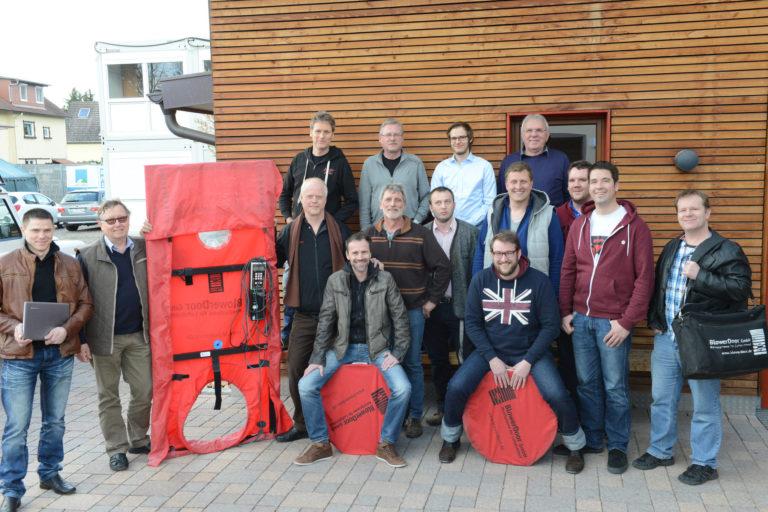 Ausbildung zum Blower-Door-Messdienstleister mit Prüfung der Handwerkskammer: Neue Termine für Herbst 2016