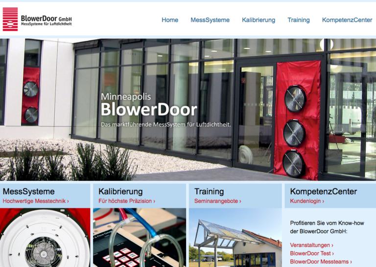 BlowerDoor-MessSystem für Luftdichtheit – bionic3 ist Handelspartner