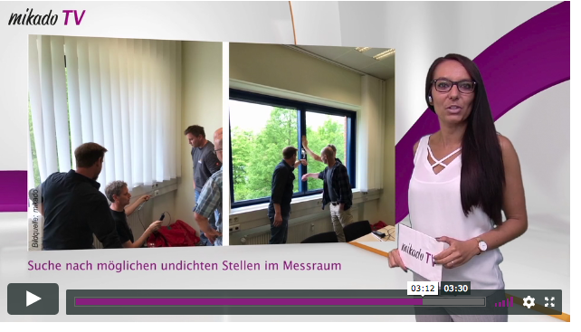 Holzbaumagazin Mikado berichtet über Blower-Door-TÜV-Seminar – Pressespiegel