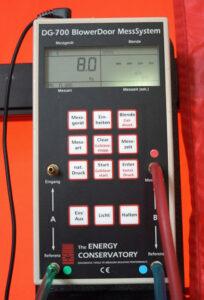 Natürliche Druckdifferenz Differenzdruckmessung