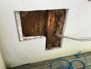 Bauschaden durch Leckage in der luftdichten Gebäudehülle