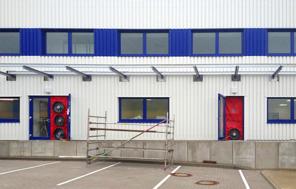 Blower-Door-Messung Halle
