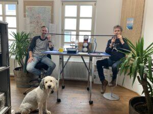 Luftdichtheits-Wissen an der Hochschule Mosbach mit Sascha Dreher und Holger Merkel