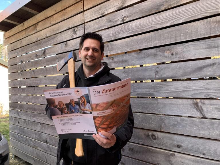 In der Presse: Zimmermann im Zimmermann